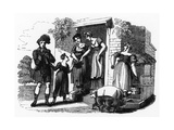 Street Music: an Itinerant Piper  1831
