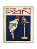 Woman Telling Pan Off!