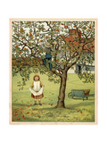Girl Picks Fruit 1881
