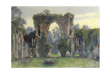 Netley Abbey  West  1908