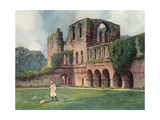Furness Abbey  Goble 1908