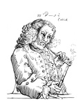 John Dennis  Caricature