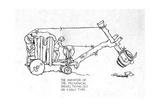 Early Type of Mechanical Shovel