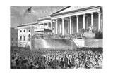 Inauguration of Abraham Lincoln