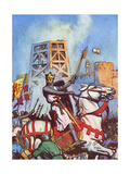 Third Crusade - Richard I at the Siege of Acre