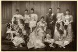 Duke and Duchess of York with Bridesmaids