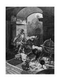 Rudolf II and Astrologer
