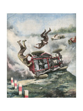 Crash at Brooklands