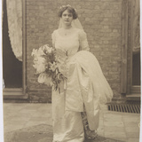 Edwardian Blushing Bride