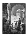 Heinrich IV at Canossa