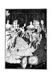 Battle of the Beaux and Belles  Aubrey Beardsley