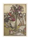 Alice: Rose-Garden Cards