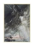 Odin  Wotan Rides  Rackham
