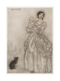 Mother  Baby  Cat 1905