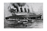 WW1 - Sinking of 'Lusitania'  May 7th  1915