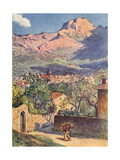 Majorca  Soller 1909