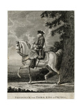 Friedrich II on Horse