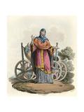 Anglo-Saxon Lady