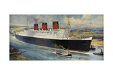 Queen Mary' Ocean Liner to Greenock  Inverclyde