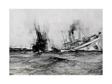 WW1 - British Hospital Ship Anglia Sinks  November 17th 1915