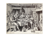 German Family at Table
