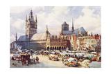 Ypres  Market Place C1914