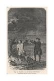 Benjamin Franklin and His Kite