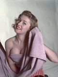 Pin-Up with Lilac Towel