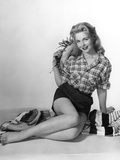 Pin-Up in Shorts 1950S