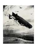 WW1 - Commodore Bigsworth Drops Bombs on Zeppelin  1915