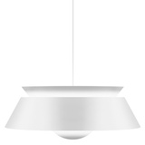 Cuna Matte White Pendant Lamp - Hard-wired