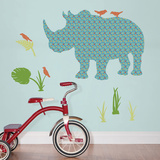Rupert the Rhinoceros Wall Art Kit