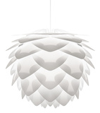 "Silvia White 18"" Pendant - Hard-wired"
