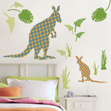 Joey the Kangaroo Wall Art Kit
