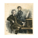 Grieg and His Wife