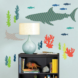 Bart the Shark Wall Art Kit