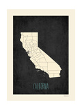 Black Map California