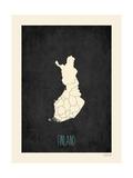 Black Map Finland
