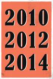 2010  2012  2014