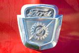Vintage Ford Firetruck Engine Emblem Photo Poster