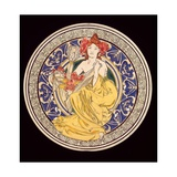 Decorative Plate with the Symbol of the Paris International Exhibition  1897