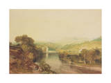 Addingham Mill on the Wharfe  West Yorkshire  C1808