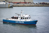 NYPD New York Police Boat Photo Poster