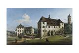 The Fortress of Konigstein: Courtyard with the Magdalenenburg  1756-58