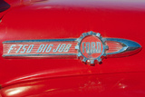 Vintage Ford F-750 Big Job Firetruck Emblem Photo Poster