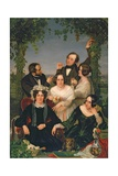 Family Group (The Bromley Family) 1844