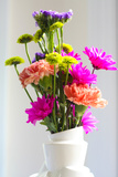 Still Life Summer Flowers Arrangement Photo Poster