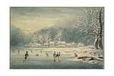 Hyde Park in the Snow  1796