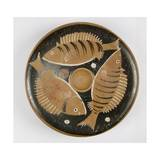 Plate with Fish Design