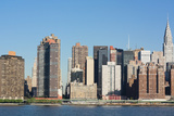 New York City Skyline with Empire State and Chrysler Buildings Photo Poster